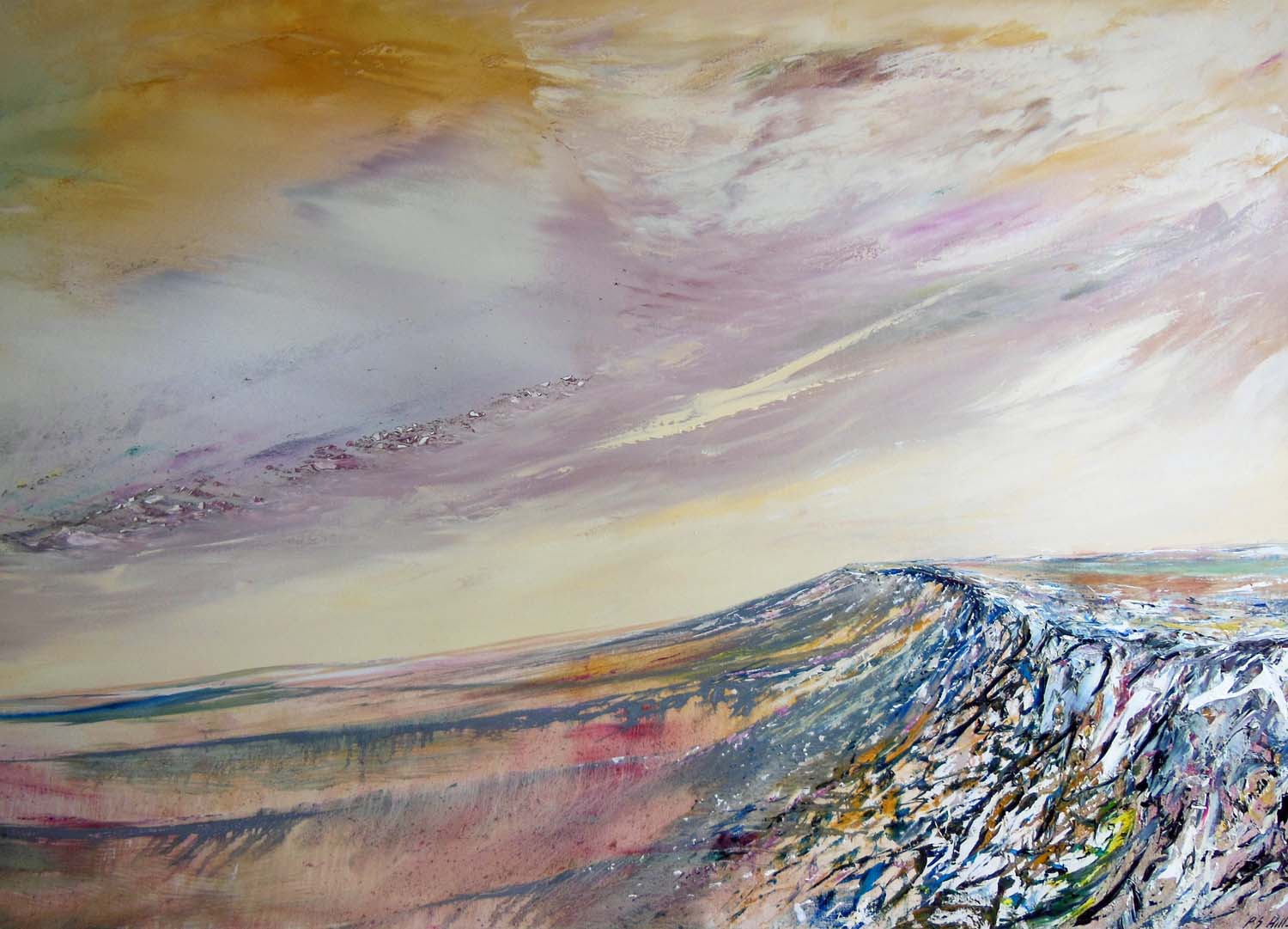 Stanage Edge by Peter Hill