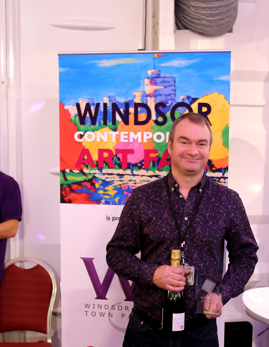 Peter Hill - Best in Show Art Award - WAF 2014