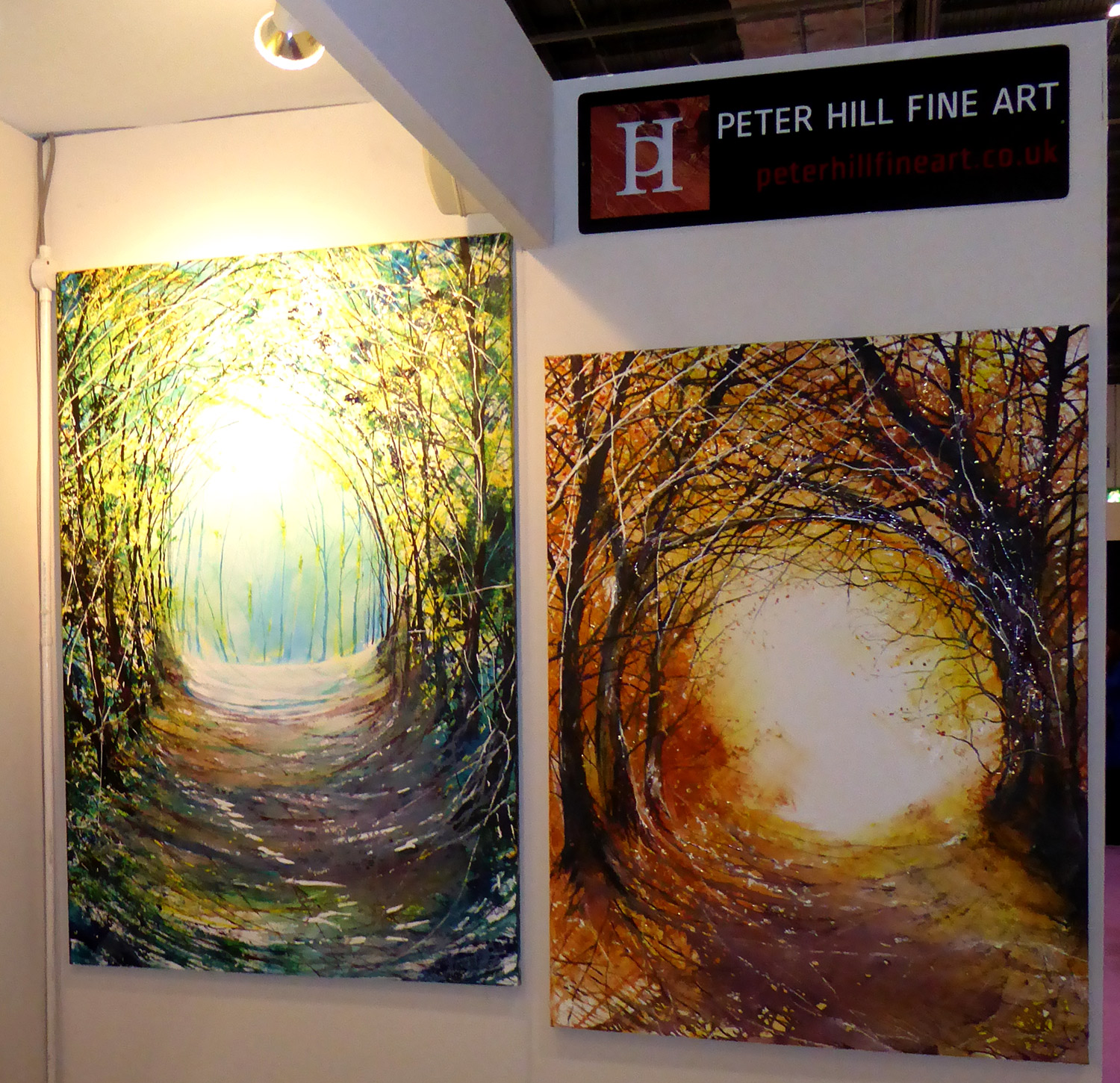 Peter Hill Fine Art Stand at Grand Designs Live 2014