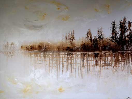 Autumn Mist - Lakeshore