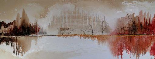 Autumn Lake Walk