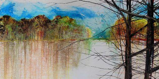 Lake Edge Trees
