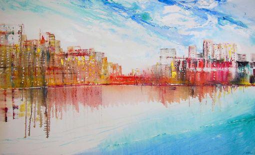 London - City Reflections