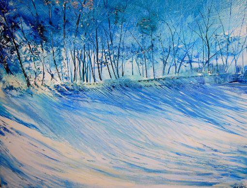 Blue Mist Trees