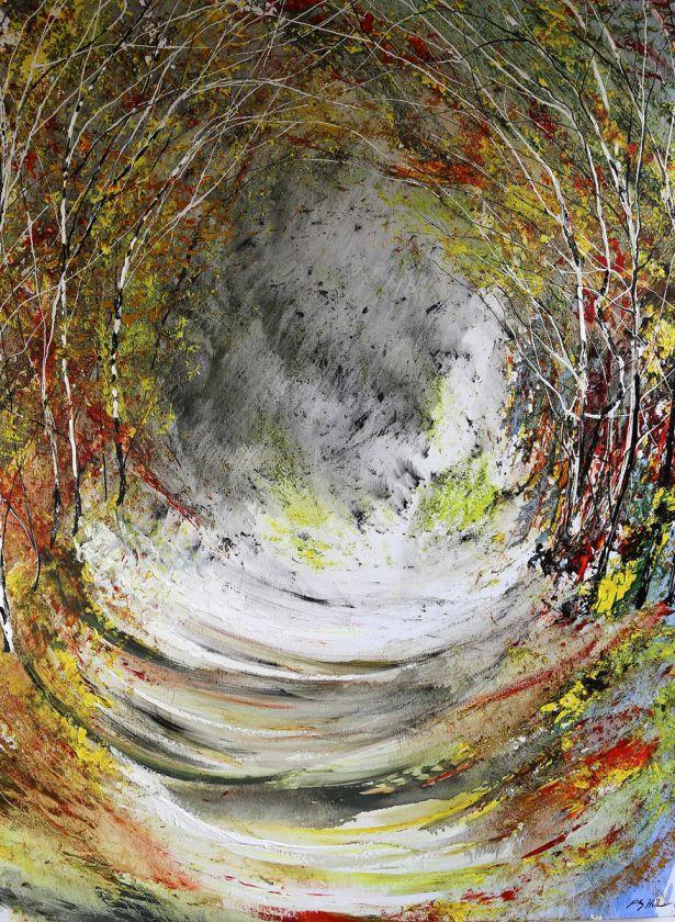 Autumn Light - Tree Tunnel