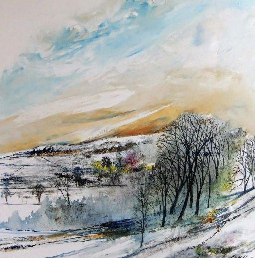 Winters Morn near Abney