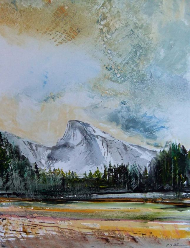 Yosemite Half-Dome Valley Floor