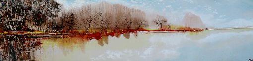 Red Autumn Shore